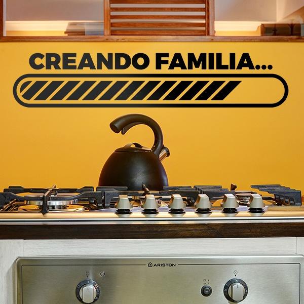 Wandtattoos: Creando familia