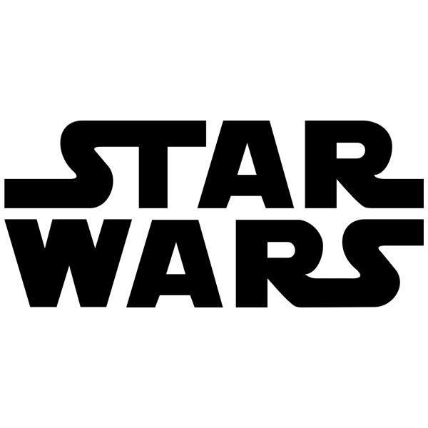 Wandtattoos: Star Wars logo