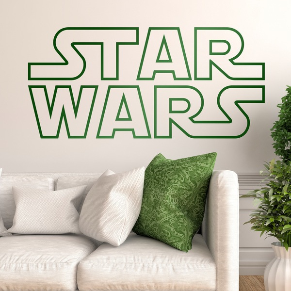 Wandtattoos: Star Wars Logo bordure 0