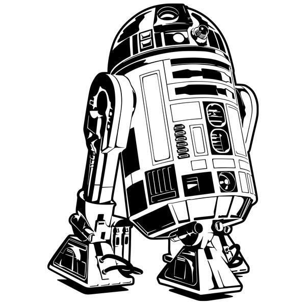 Wandtattoos: R2-D2