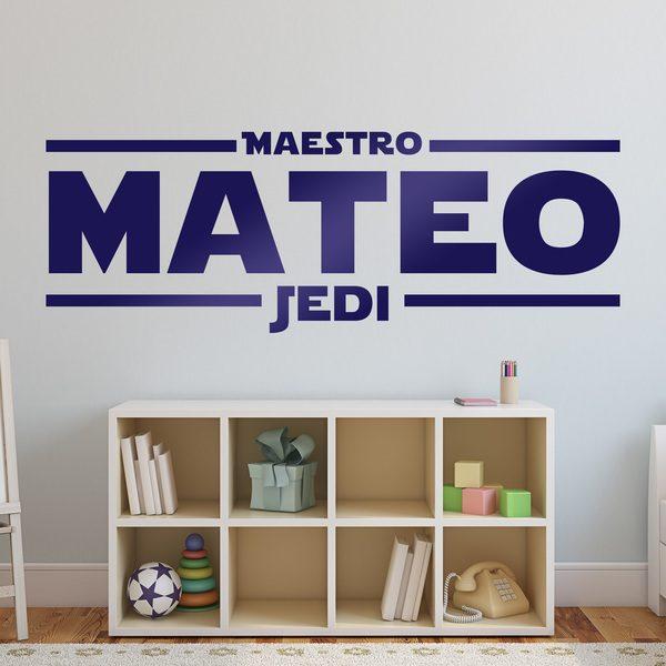 Wandtattoos: Jedi-Meister mit dem Namen