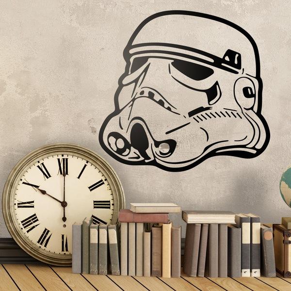 Wandtattoos: Stormtrooper-Sturzhelm