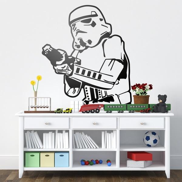 Wandtattoos: Stormtrooper 1