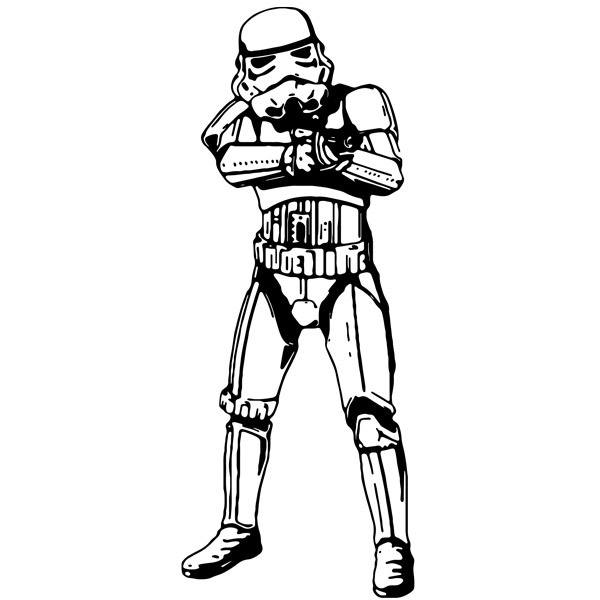 Wandtattoos: Stormtrooper 2