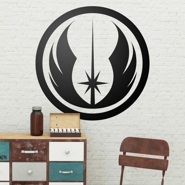 Wandtattoos: Symbol des Jedi-Orden