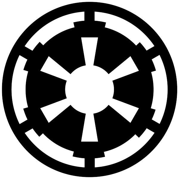 Wandtattoos: Symbol des Galaktischen Imperiums