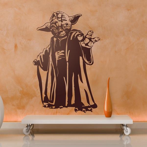 Wandtattoos: Meister Yoda