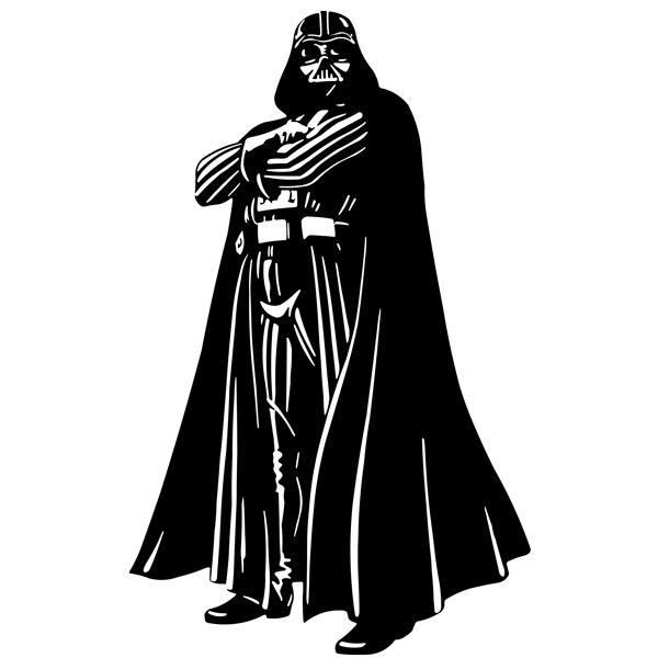 Wandtattoos: Darth Vader 1