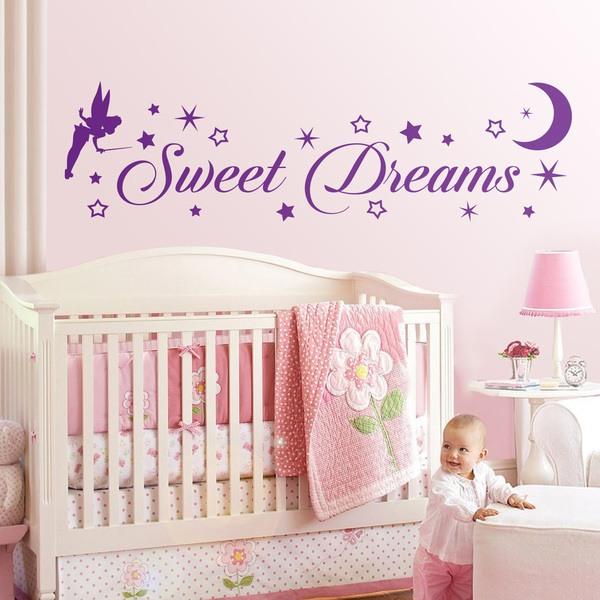 Kinderzimmer Wandtattoo: Tinkerbell Sweet Dreams