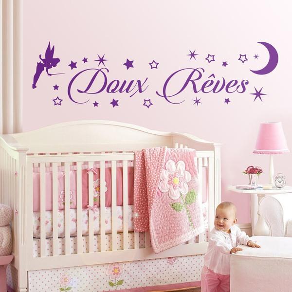 Kinderzimmer Wandtattoo: Tinkerbell Doux Rêves