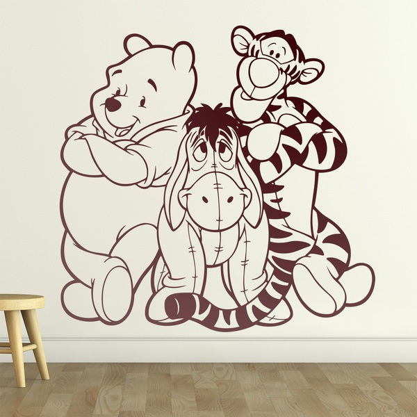 Kinderzimmer Wandtattoo: Winnie the Pooh