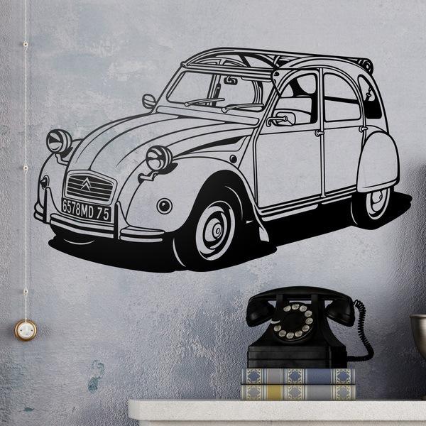 Wandtattoos: Citroën 2CV