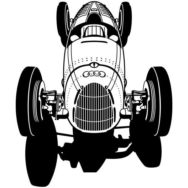 Wandtattoos: Audi Racer Klassischen
