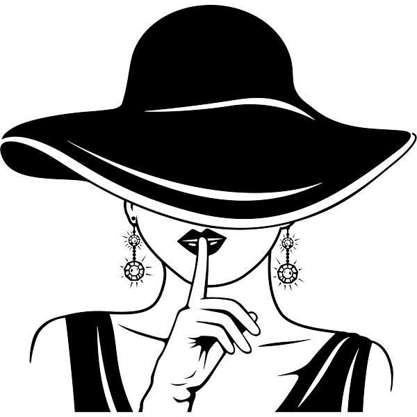 Wandtattoos: Eleganz schweigt