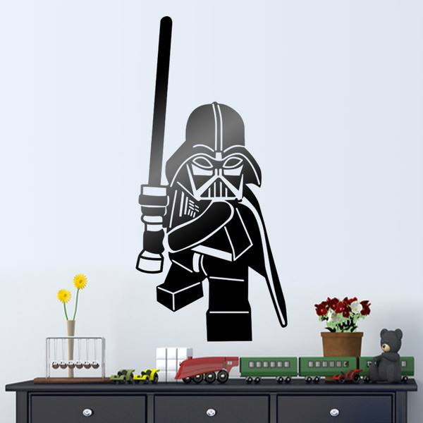 Kinderzimmer Wandtattoo: Lego Darth Vader Figur