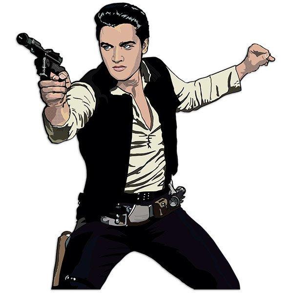 Wandtattoos: Elvis Han Solo