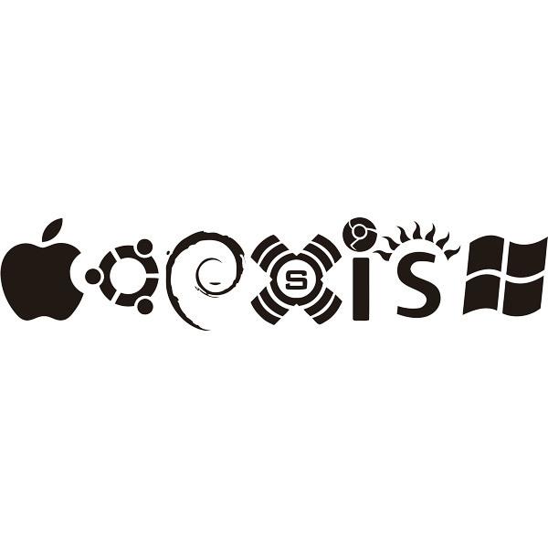 Wandtattoos: Coexist Betriebssysteme