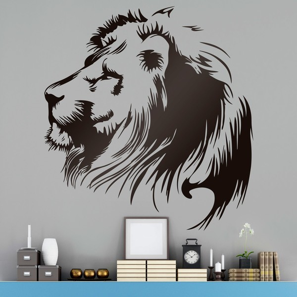 Wandtattoos: Lionhead