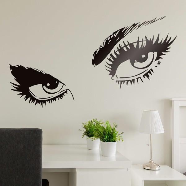 Wandtattoos: Weibliche Augen