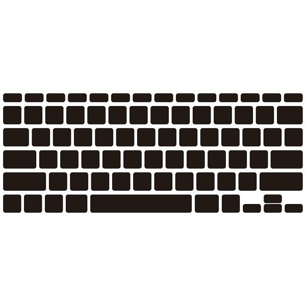 Wandtattoos: Tastatur-Computer Laptop