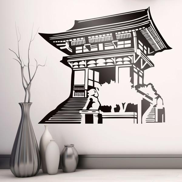 Wandtattoos: Orientalischen Tempel