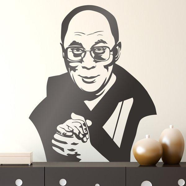Wandtattoos: Dalai Lama