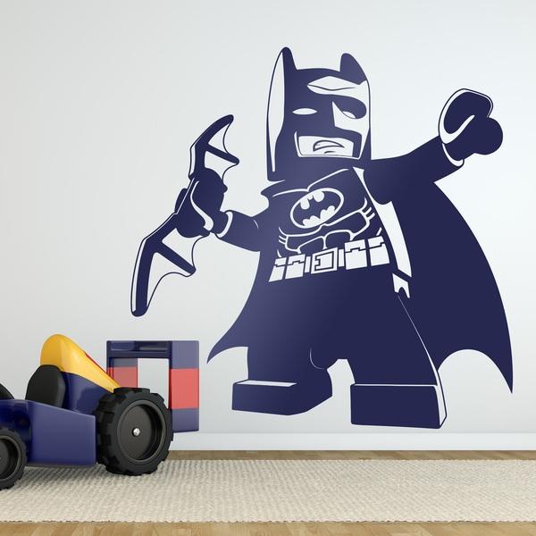 Kinderzimmer Wandtattoo: Abbildung Lego Batman