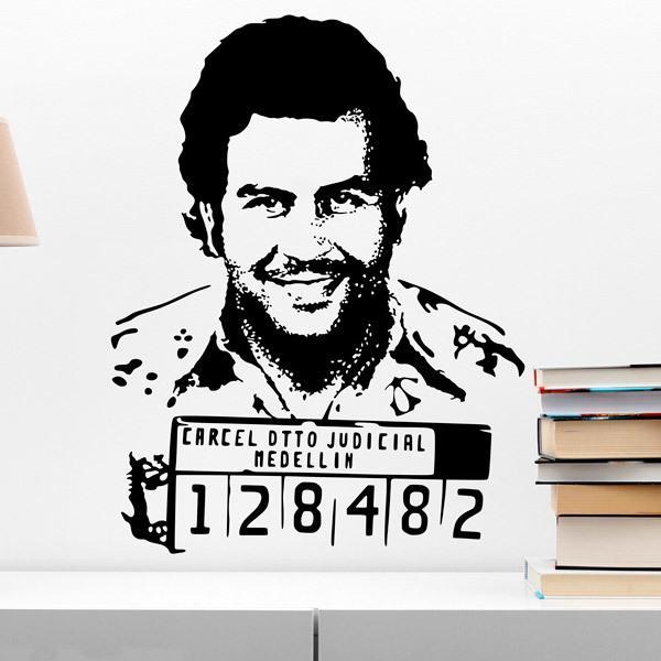 Wandtattoos: Pablo Escobar