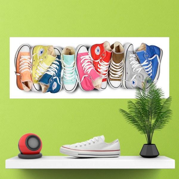 Wandtattoos: Schuhe von Converse