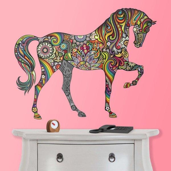 Wandtattoos: Hindu Pferd