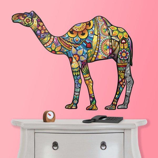 Wandtattoos: Hindu-Kamel