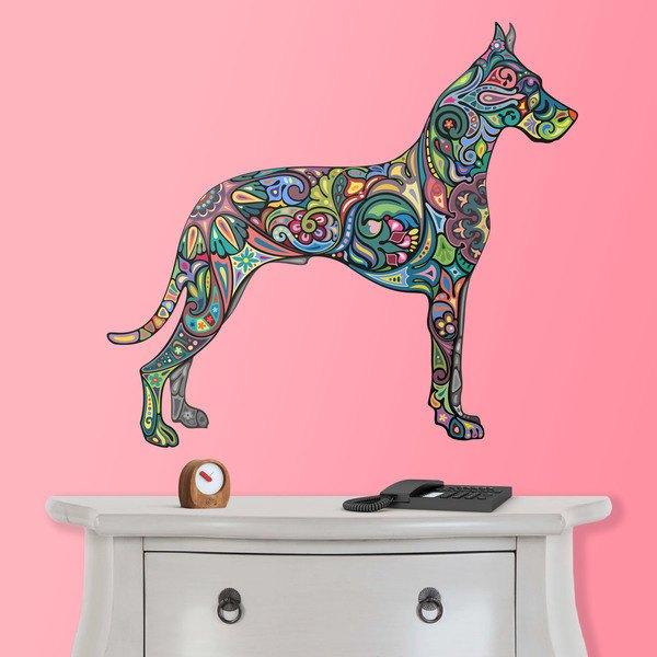 Wandtattoos: Hindu Hund