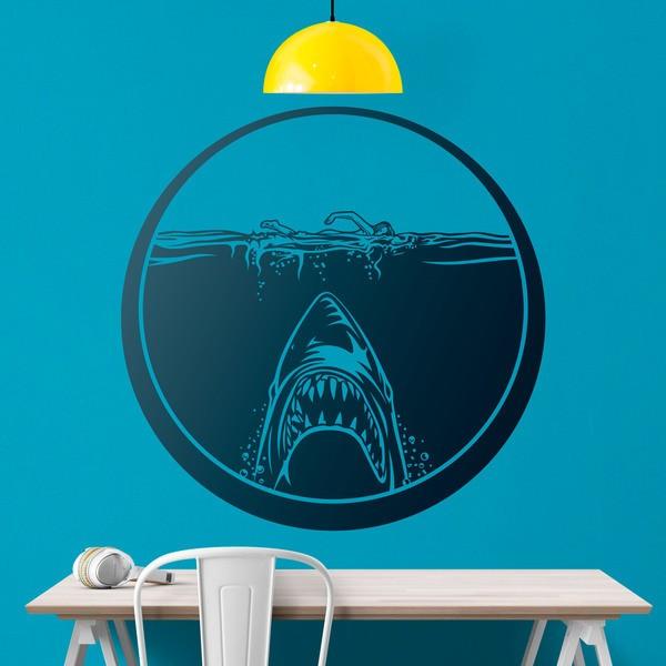 Wandtattoos: Film Der weiße Hai