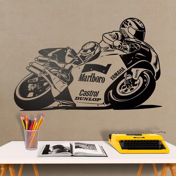 Wandtattoos: Wayne Rainey Yamaha Motorrad kaufen