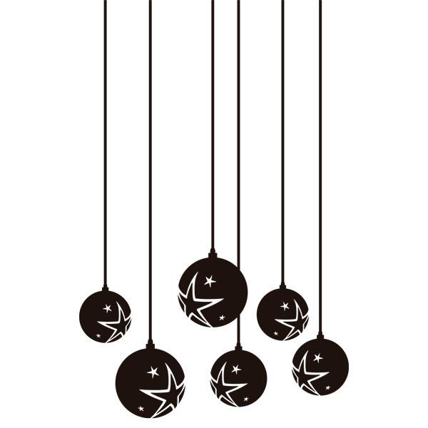 weihnachtskugeln mit sternen. Black Bedroom Furniture Sets. Home Design Ideas