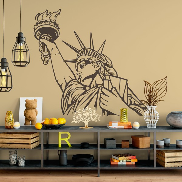 Wandtattoos: Statue of Liberty 2