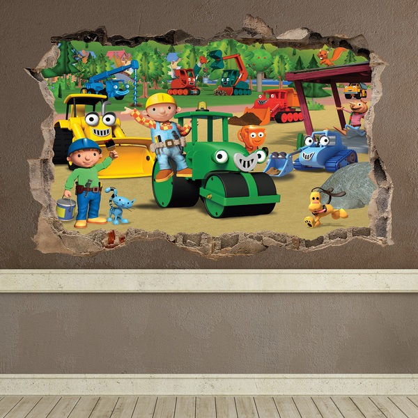 Wandtattoos: Loch Bob the builder 1
