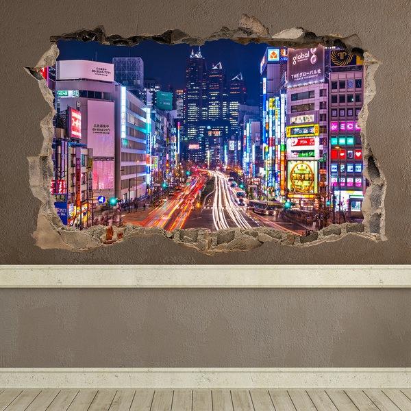 Wandtattoos: Tokyo Straßen
