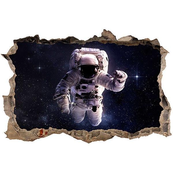 Wandtattoos: Loch Astronaut