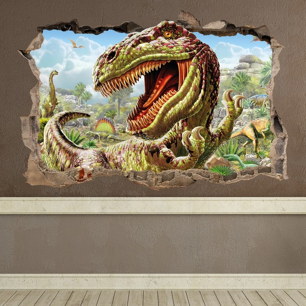 wandtattoo dinosaurier. Black Bedroom Furniture Sets. Home Design Ideas