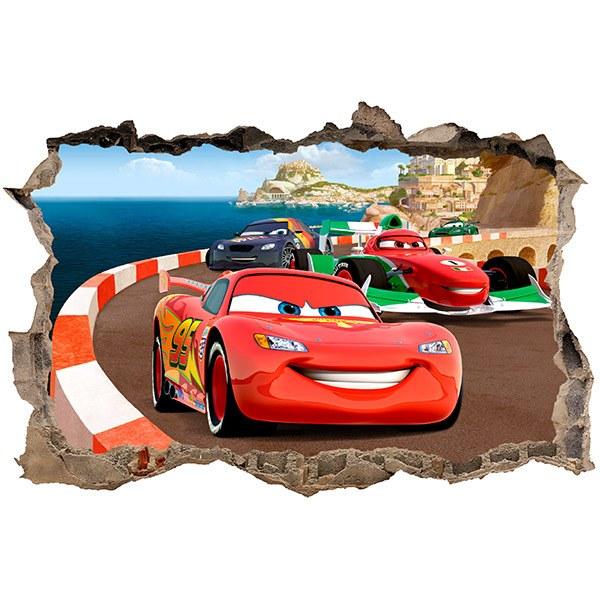 Wandtattoos: Loch Cars