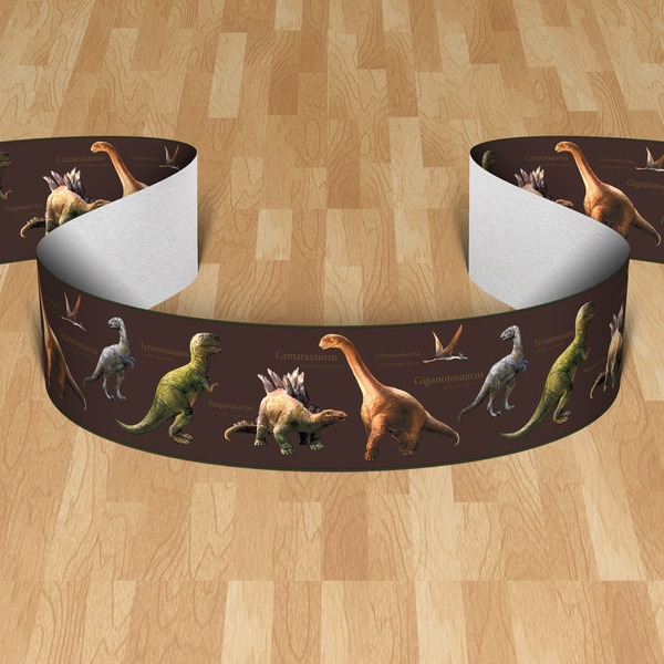 Kinderzimmer Wandtattoo: Bordüre Dinosaurs II
