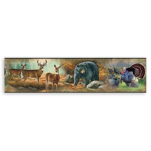Wandtattoos: Bordüre Tiere