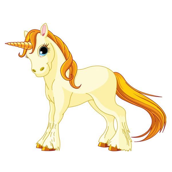 Kinderzimmer Wandtattoo: Pony Einhorn