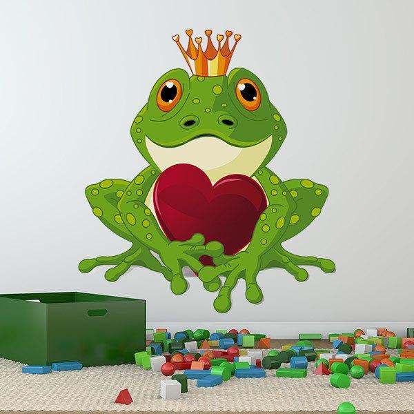 Kinderzimmer Wandtattoo: Froschprinz