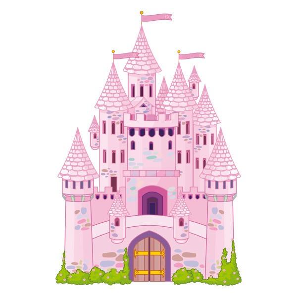 Kinderzimmer Wandtattoo: Prince Castle