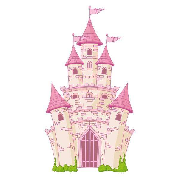 Kinderzimmer Wandtattoo: Schloss Fantastisch