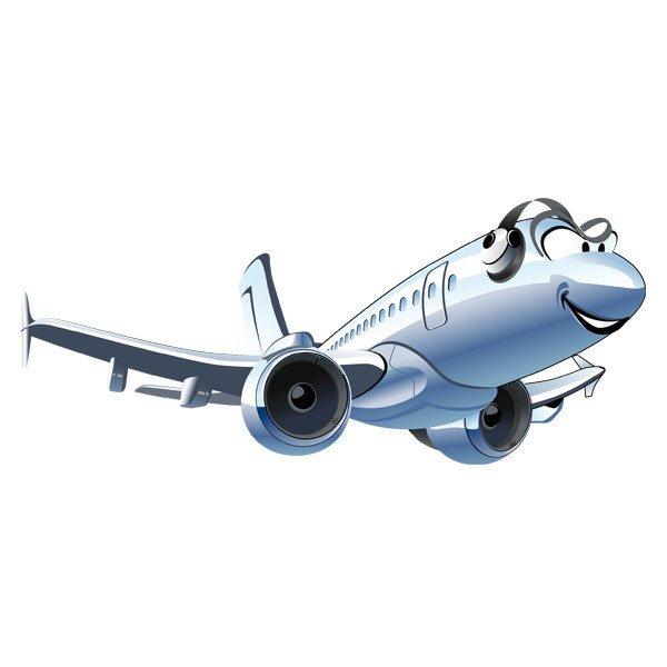 Kinderzimmer Wandtattoo: Kommerzielle Flugzeug
