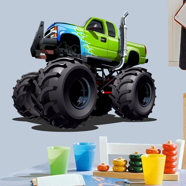 Kinderzimmer Wandtattoo: Monster Truck 21