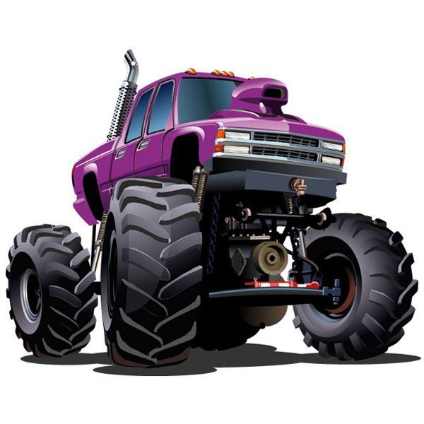 Kinderzimmer Wandtattoo: Monster Truck 3